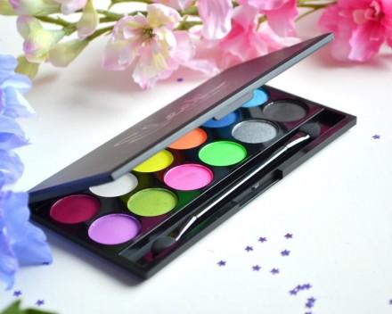 Палетка теней Sleek MakeUp Eyeshadow Palette I-Divine 12 тонов Acid: фото