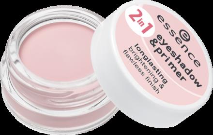 Тени для век и база 2 in 1 Eyeshadow & Primer Essence 02 nude rosé: фото