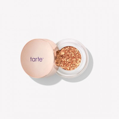 Тени для век Tarte chrome paint shadow pot Sun Drenched Metallic Bronze Champagne: фото