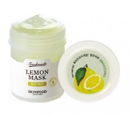 Маска с экстрактом лимона SKINFOOD Freshmade Lemon Mask: фото
