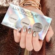 Набор эффектных пудр для ногтей 3 В 1 CATRICE LuxChrome Nail Powder Kit 01 EFFECT OVERLAOD: фото