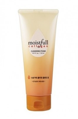 Пенка для умывания ETUDE HOUSE Moistfull Collagen Cleansing Foam: фото