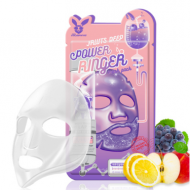Маска тканевая с фруктами ELIZAVECCA Fruits deep power ringer mask pack 23 мл.: фото