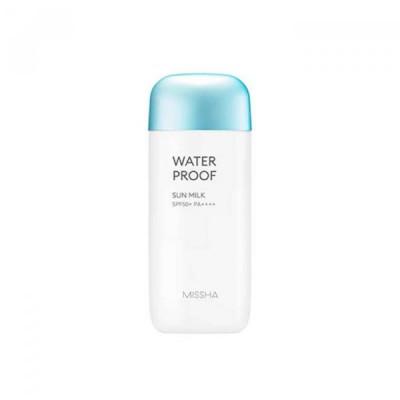 Солнцезащитное водостойкое молочко '18 MISSHA All Around Safe Block Water Proof Sun Milk SPF50+/PA_70ml: фото