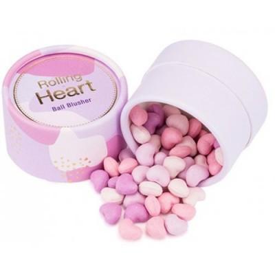 Румяна в шариках MISSHA Rolling Heart Ball Blusher No.3/Aurora Shake: фото