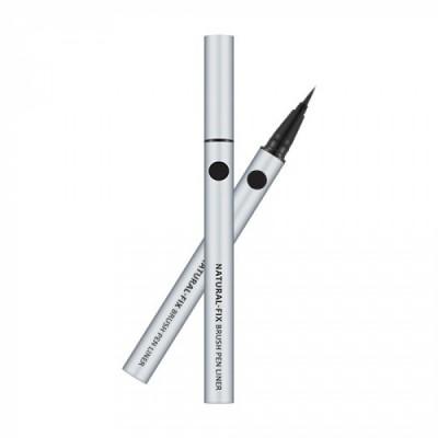 Подводка для глаз MISSHA Natural Fix Brush Pen Liner Black: фото