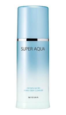 Пенка очищающая кислородная MISSHA Super Aqua Oxygen Micro Visible Deep Cleanser: фото