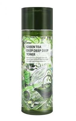 Тонер для лица с экстрактом зеленого чая SEANTREE Green tea deep deep deep toner 180мл: фото
