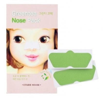 Очищающие полоски для носа ETUDE HOUSE Gree Tea Nose Patch: фото