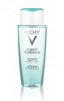 Лосьон для снятия макияжа с чувствительных глаз VICHY Purete Thermal 150мл: фото