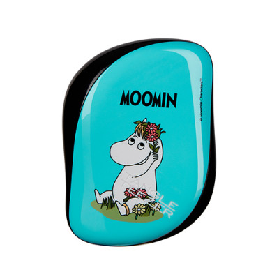 Расческа TANGLE TEEZER Compact Styler Moomin Blue голубой: фото