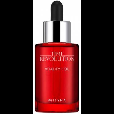 Антивозрастное масло для лица MISSHA Time Revolution Vitality Oil 30 мл: фото