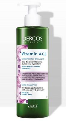 Шампунь для блеска волос VICHY DERCOS NUTRIENTS Vitamin 250мл: фото