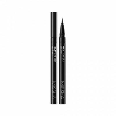 Подводка для глаз MISSHA Matt Effect Pen Liner Black: фото