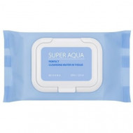 Очищающие салфетки для лица MISSHA Super Aqua Perfect Cleansing Water In Tissue: фото