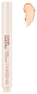 Консилер для лица MISSHA Cover Maestro Stick Concealer №21/Piano: фото
