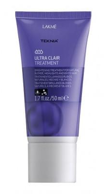 Средство придающее блеск светлым оттенкам волос LAKMÉ ULTRA CLAIR TREATMENT 50 мл: фото