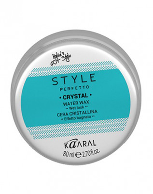Воск для волос с блеском Kaaral Style Perfetto CRYSTAL WATER WAX 80мл: фото