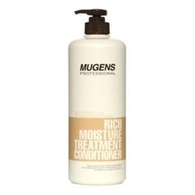 Кондиционер для волос увлажняющий Welcos Mugens Rich Moisture Treatment Conditioner 1000g: фото