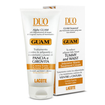 Крем для живота и талии с разогревающим эффектом Guam Duo 150 мл: фото