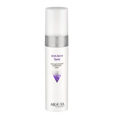 Тоник для жирной проблемной кожи Aravia professional Anti-Acne Tonic 250 мл: фото