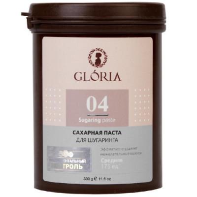 Сахарная паста для депиляции Средняя Gloria Classic 330 г: фото