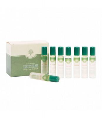 Масло для глубокого очищения кожи головы Welcos Mugens Legitime Deep Clean Scalp Oil 10ml*8: фото