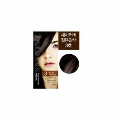 Краска для волос на фруктовой основе Fruits Wax Pearl Hair Color #03 60мл*60гр: фото
