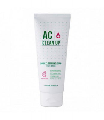 Пенка для умывания ETUDE HOUSE AC CLEANUP DAILY ACNE CLEANSING FOAM 150мл: фото