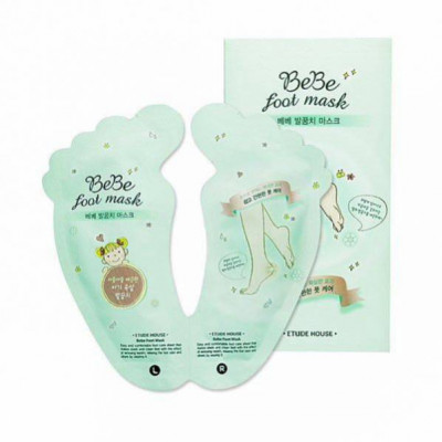 Пилинг для ног ETUDE HOUSE Be be Foot Mask 20мл/20мл: фото