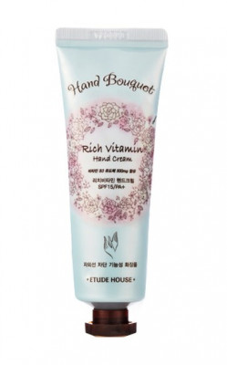 Крем для рук витаминный ETUDE HOUSE Bouguet Rich Vitamin Hand Cream 50мл: фото