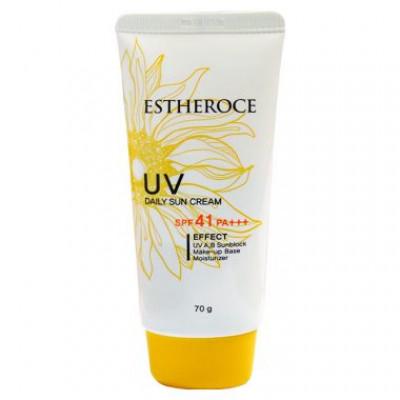 Солнцезащитный крем для лица DEOPROCE ESTHEROCE UV DAILY SUN CREAM SPF41 PA+++ 70г: фото