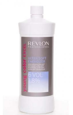 Биоактиватор ультра софт 1,8% Revlon Professional Young Color Excel PEROXIDE ULTRA 6 VOL 900мл: фото
