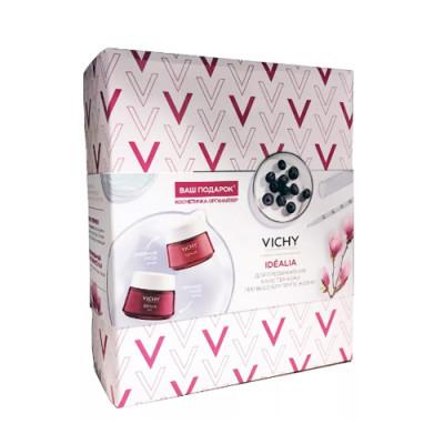 Набор Vichy Idealia: Дневной крем-уход для нормальной и комбинированной кожи 50мл + Ночной Восстанавливающий уход 50мл: фото
