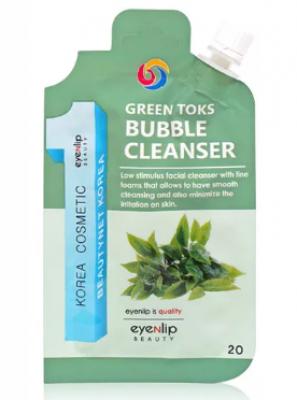 Пенка для умывания Eyenlip GREEN TOKS BUBBLE CLEANSER 20г: фото