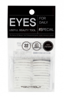 Скотч для создания второго века Tony Moly Eyelash Tape Both Sides: фото
