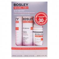 Система оранжевая для истонченных окрашенных волос Bosley Bos Revive for Visible Thinning Color Treated Hair 150мл*2 + 100мл: фото