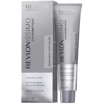 Краска перманентная Revlon Professional Revlonissimo Colorsmetique 8.13 Светлый Блондин Пепельно-золостый 60мл: фото