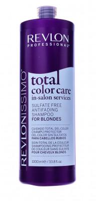 Шампунь Антивымывание Цвета для Блондинок Revlon Professional Total Color Care Anifading Shampoo Blondes 1000мл: фото