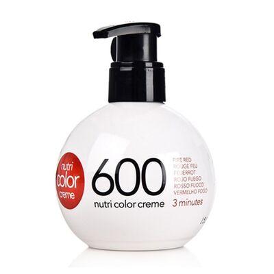 Краска для волос без аммиака Revlon Professional Nutri Color Creme 600 огненно-Красный 250мл: фото