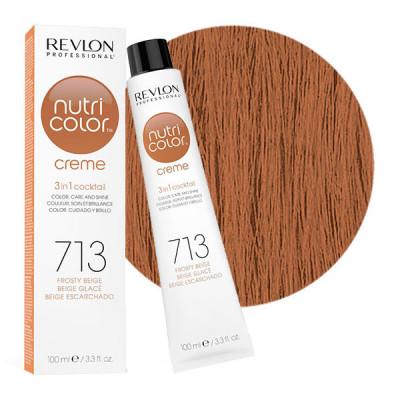 Краска для волос без аммиака Revlon Professional Nutri Color Creme 713 гаванна 100мл: фото