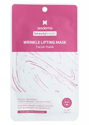 Маска антивозрастная для лица Sesderma BEAUTYTREATS Wrinkle lifting mask 25мл: фото