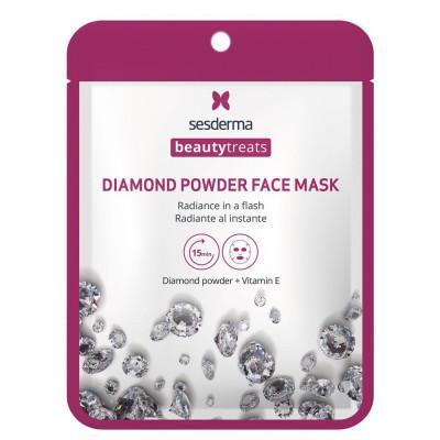 Маска для сияния кожи Sesderma BEAUTYTREATS Diamond powder face mask 22мл: фото
