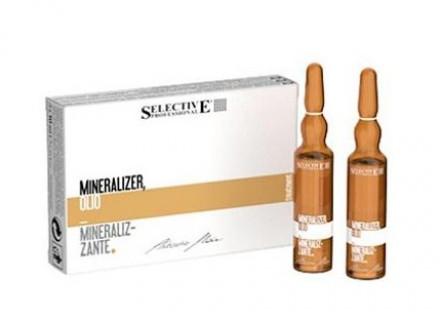 Лосьон для волос реструктурирующий Selective Professional Artistic Flair MineralizerOLIO MINERALIZER 10мл*12: фото