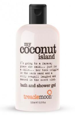 Гель для душа кокосовый рай Treaclemoon My Coconut Island Bath & Shower Gel 500 мл: фото