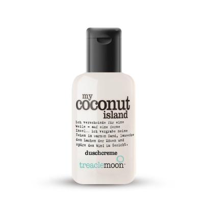 Гель для душа кокосовый рай Treaclemoon My Coconut Island Bath & Shower Gel 60 мл: фото