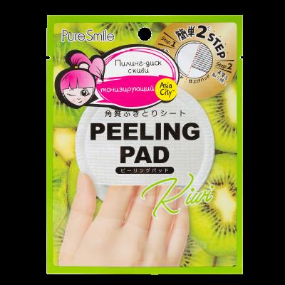 Пилинг-диск для лица с экстрактом киви SUNSMILE Peeling Pad 7 мл: фото