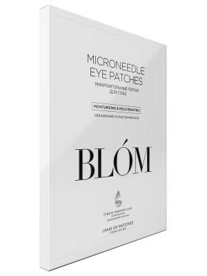 Микроигольные патчи для глаз, увлажнение и разглаживание BLÓM 1 пара: фото