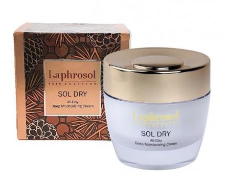 Интенсивный ночной крем для сухой кожи Laphrosol Sol Dry Cream 50 мл: фото