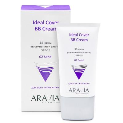 BB-крем увлажняющий SPF15 ARAVIA Professional Ideal Cover BB-Cream тон02 50мл: фото